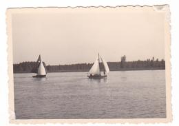 25830  Belgique -bateau Yatch -Régate à Rupelmonde -marin Femme Voilier -datée 12 Sept 1942 -Course Relais - Bateaux