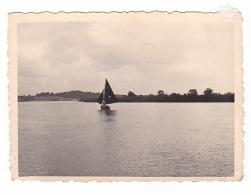 25831  Belgique -bateau Yatch -Régate à Rupelmonde -marin Femme Voilier -datée 12 Sept 1942 -Course Relais - Bateaux