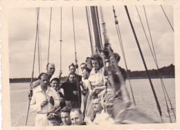 25833 Belgique -bateau Yatch -Régate à Rupelmonde -marin Femme Voilier -datée 12 Sept 1942 -Course Relais - Bateaux