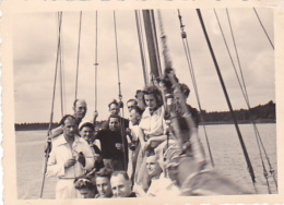 25833 Belgique -bateau Yatch -Régate à Rupelmonde -marin Femme Voilier -datée 12 Sept 1942 -Course Relais