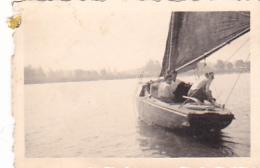 25834 Belgique -bateau Yatch -Régate à Rupelmonde -marin Femme Voilier PIKI -datée 12 Sept 1942 -Course Relais