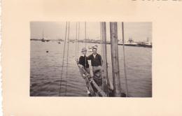 25839 Belgique -bateau Yatch -Régate à Rupelmonde -marin Femme Voilier PIKI -datée Sept 1942 -Course Relais - Bateaux