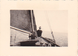 25841 Belgique -bateau Yatch -Régate à Rupelmonde -marin Femme Voilier PIKI -datée Sept 1942 -Course Relais