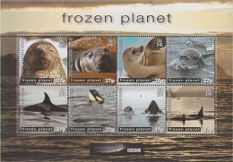Antarctic.Britsch Antarctic.Territory.2011.Sheet.8v.Frozen Planet.MNH.22215 - Brits Antarctisch Territorium  (BAT)