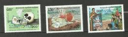 Laos N°1091 à 1093 Neufs** Cote 7.25 Euros - Laos