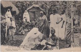 Afrique équatoriale - Missions Missionaires St-Charles Birmandreis Alger Ethnic Tribal Missie Soins Aux Malades - Cartes Postales