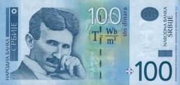 SERBIA 100 DINARA 2013 P-57b UNC  [ RS417b ] - Serbia