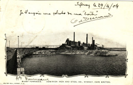 Blast Furnaces - Dominion Iron And Steel Co, Sydney - Cape Breton - Cape Breton
