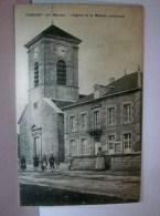 CPA 52 (Hte-Marne)  CONSIGNY / L'EGLISE ET LA MAISON COMMUNE /  ANIMATION / A VOIR - France