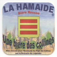 La Hamaide. Bière Rousse. Une Bière Des Collines. Bière Brassée Pour L'Ecomusée Du Pays Des Collines Brasserie Légendes. - Sous-bocks