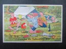 CP PAYS-BAS (V1607) VALKENBURG (2 Vues) Groeten Uit Valkenburg Carte à Système - Valkenburg