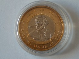 Jeton - Essai - Malte 2004 - 1 Euro - Malte