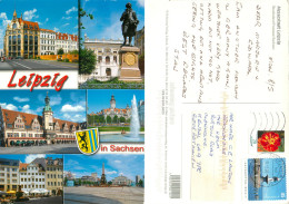 Leipzig, Germany Postcard Posted 2006 Stamp - Leipzig