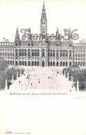 Vienne WIEN - Rathhaus Mit Den Statuen Historischer Personlichkeit - Perfect Condition - 2 Scans - Château De Schönbrunn