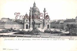 Vienne WIEN - Pfarrkirche Karl Borromaus - Erbaut - Perfect Condition - 2 Scans - Ohne Zuordnung
