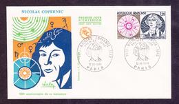 ENVELOPPE PREMIER JOUR - NICOLAS COPERNIC - 12 OCTOBRE 1974 - FDC