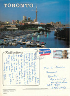 Toronto, Ontario, Canada Postcard Posted 1990 Stamp - Toronto