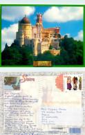 Pena Palace, Sintra, Portugal Postcard Posted 2006 Stamp - Lisboa