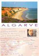 Praia Da Falesia, Portugal Postcard Posted 2012 Stamp - Faro