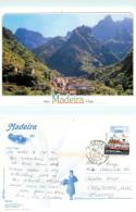 Serra D'Agua, Madeira, Portugal Postcard Posted 2010 Stamp - Madeira