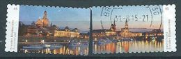 ALLEMAGNE ALEMANIA GERMANY DEUTSCHLAND BUND 2014 Dresden Elbpanorama Set Of 2v. S/A MI 3073-74 YV 2892-93 SC 2782-83 SG - Gebraucht