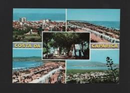 POSTCARD 1960 Years  & STAMP PORTUGAL ALMADA COSTA DA CAPARICA Xx - Setúbal