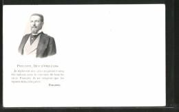 """CPA Portrait Philippe, Duc D'Orleans: """"Je Replacerai Mon Pays Au Premier Rang..."""" - Familles Royales"""