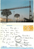 Bridge, Bilbao, Spain Postcard Posted 1994 Stamp + Postage Due Markings - Vizcaya (Bilbao)