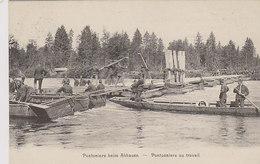 Pontoniere Beim Abbauen - Eidg.Pontonier-Wettfahren, Luzern - 1913    (P2-00914) - Matériel