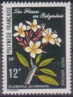 Polynesie, 1977, Flowers, Blossoms, Fleurs, MNH, Michel 241, French Polynesia - Polynésie Française