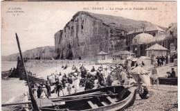 76 - Yport  - La Plage Et La Falaise  D Amont - Yport