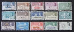 British Antarctic Territory 19631st Set Superb Condition MH/MNH QEII SG 1-15 - British Antarctic Territory  (BAT)