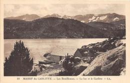 PYRENEES ORIENTALES  66   MASSIF DU CARLITTE  LES BOUILLOUSES - LE LAC ET LE CARLITTE - France