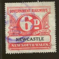 Australia / New South Wales Revenue / Railway Parcel Post  X1014