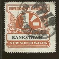 Australia / New South Wales Revenue / Railway Parcel Post  X1017