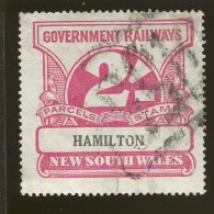 Australia / New South Wales Revenue / Railway Parcel Post  X1019