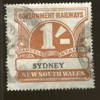 Australia / New South Wales Revenue / Railway Parcel Post  X1018