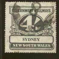 Australia / New South Wales Revenue / Railway Parcel Post  X1020