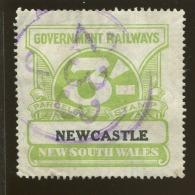 Australia / New South Wales Revenue / Railway Parcel Post  X1022