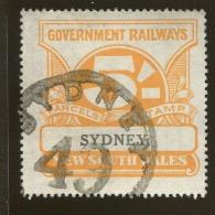 Australia / New South Wales Revenue / Railway Parcel Post  X1024