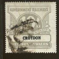 Australia / New South Wales Revenue / Railway Parcel Post  X1025