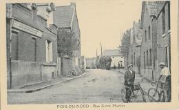 POIX-DU-NORD - RUE SAINT MARTIN - MAGNIFIQUE ANIMATION - VERS 1900 - Autres Communes