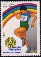PAKISTAN:1991 Special Olympic Game International - Pakistan
