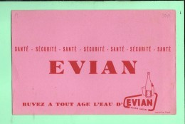 BUVARD: Eau D'Evian - Buvards, Protège-cahiers Illustrés