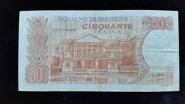 Billet De 50 Francs Belgique - [ 2] 1831-... : Belgian Kingdom