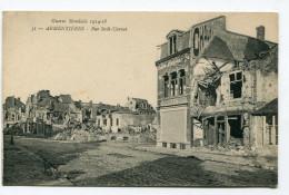 CPA  59  :  ARMENTIERES  Rue Sadi Carnot    A   VOIR  !!!!!!! - Armentieres