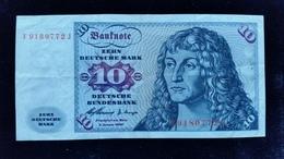 Billet De 10 Mark 1960 - 10 Deutsche Mark