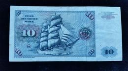 Billet De 10 Mark 1980 - [ 7] 1949-… : RFD - Rep. Fed. Duitsland
