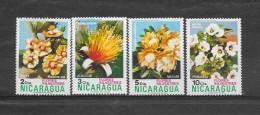 Nicaragua 1977 Nr Y&T 962,63,65,66 (**) - Nicaragua