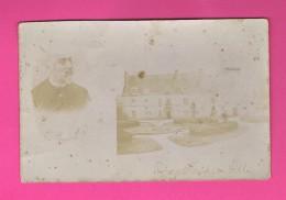 D17- PONS HÔTEL DE VILLE.  Carte Photo Avec Un Homme Et Son Nom. - Pons